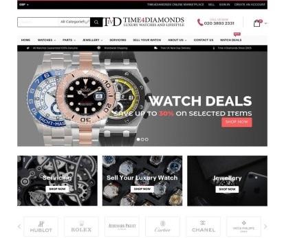 jewellery website design london